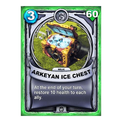 Non-Elemental Relic - Arkeyan Ice Chest
