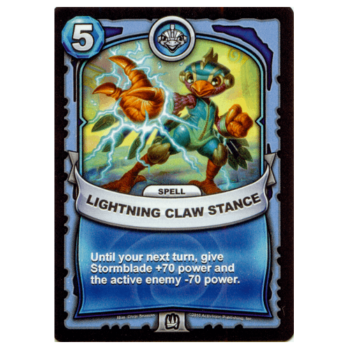Air Spell - Lightning Claw Stance