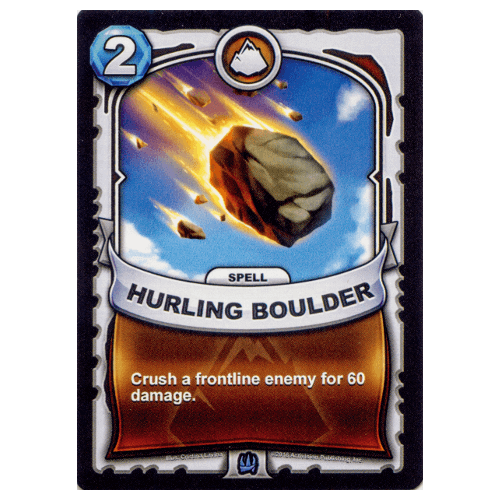 Earth Spell - Hurling Boulder