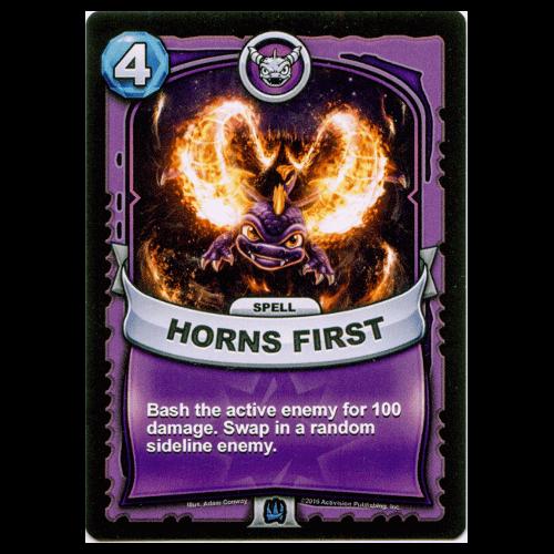 Magic Spell - Horns First