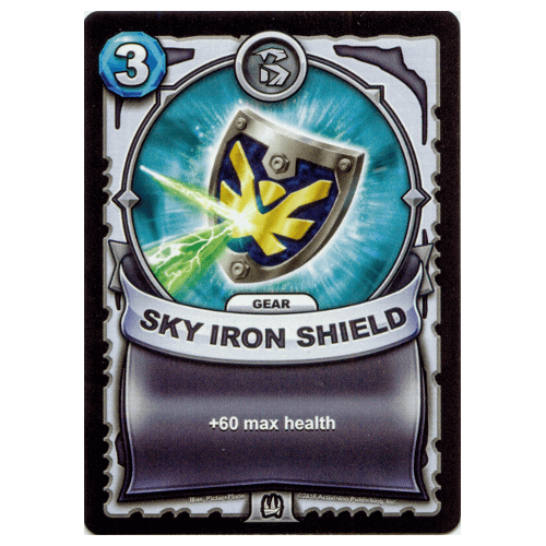 Non-Elemental Gear - Sky Iron Shield