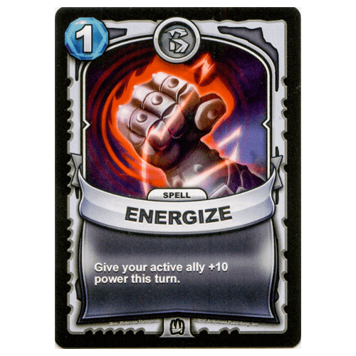 Non-Elemental Spell - Energize