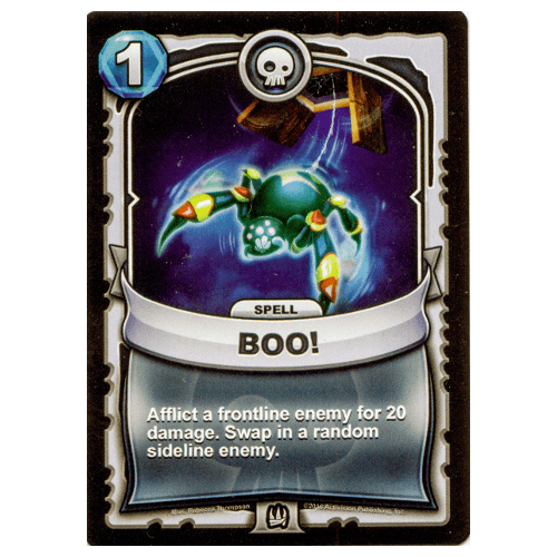 Undead Spell - Boo!