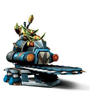 Skylanders Trap Team - Steampunk Shrednaught