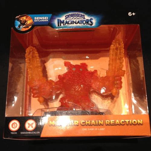 Orange Chain Reaction - Skylanders Imaginators